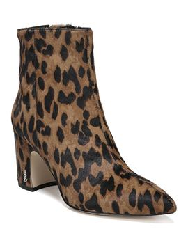 Hilty Genuine Calf Hair Bootie by Sam Edelman