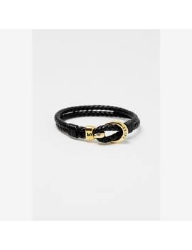 Saint Morta Classified Bracelet Black/Gold by Saint Morta