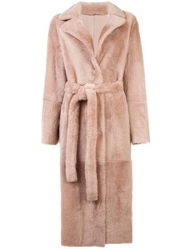 Longline Coat by Yves Salomon