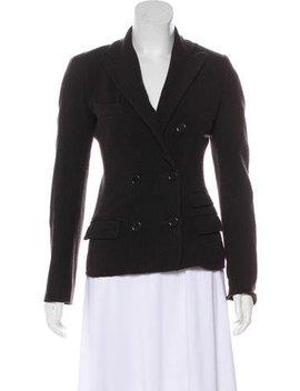 Étoile Isabel Marant Virgin Wool Pinstripe Blazer by Étoile Isabel Marant