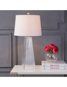 "Dylan 28.5"" Glass Led Table Lamp, Clear by Jonathan Y"
