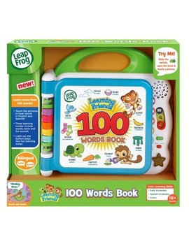 Leap Frog Learning Friends 100 Words Book by Leap Frog
