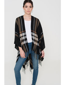 Classic Plaid Shawl by Ardene