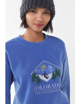 Colorado 1983 Crew Neck Sweatshirt by Urban Outfitters