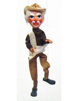 Mexican Marionette Puppets   Senor (Senior) by Sercal