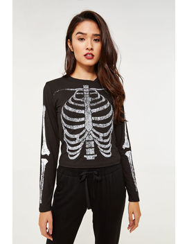 Skeleton Tee by Ardene