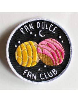 "Pan Dulce Fan Club Patch   Mexican Sweet Bread   3""X3"" by Etsy"