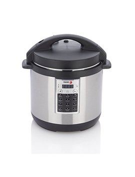 Fagor 670041930 Premium Electric Pressure And Rice Cooker, 6 Quart, Silver by Fagor