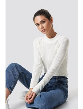 Long Sleeve Knitted Sweater by Na Kd