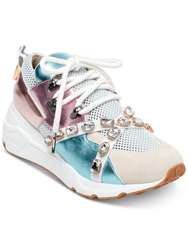 Women's Credit Jeweled Sneakers by Steve Madden