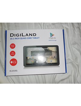 "Digi Land 10.1"" Quad Core Tablet by Digi Land"