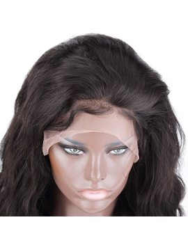 Rosabeauty Body Wave 360 Lace Frontal Wigs Pre Plucked With Baby Hair 250 Density Long Lace Front Human Wigs For Women Remy Hair by Rosabeauty