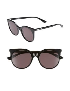 52mm-cat-eye-sunglasses by mcq-alexander-mcqueen