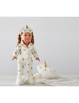 Götz Special Edition Unicorn Sleepover Doll   Allie by Pottery Barn Kids
