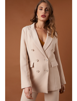 Relaxed Double Breasted Blazer by Na Kd Trend