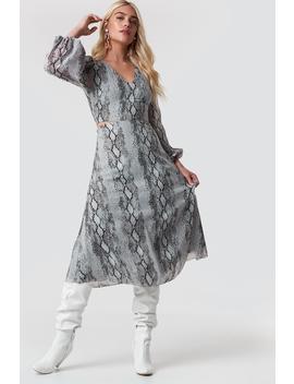 Waist Lining Dress by Trendyol
