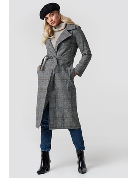 Belted Overcoat by Trendyol