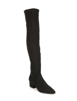 Carli Over The Knee Block Heel Boots by Steve Madden