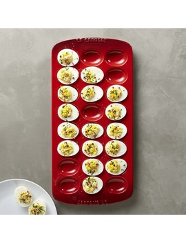 Le Creuset Deviled Egg Tray by Williams   Sonoma
