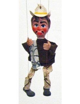 Mexican Marionette Puppets   Hombre (Man) by Sercal
