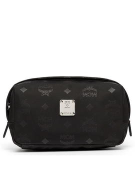 Dieter Pouch In Monogrammed Nylon by Mcm