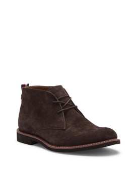 Gervis Suede Lace Up Boot by Tommy Hilfiger