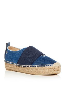 Women's Nina Denim Platform Espadrille Flats by Rag & Bone