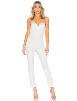 Carina Sweetheart Strapless Jumpsuit by By The Way.