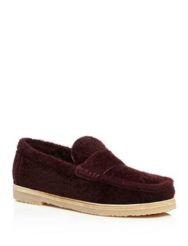 Women's Bromley Shearling Loafers by Stuart Weitzman