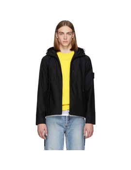 Black Ghost Light Jacket by Stone Island