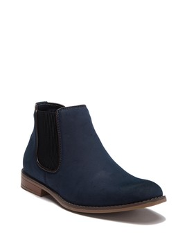 Faux Suede Chelsea Boot by X Ray