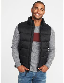 Frost Free Puffer Vest For Men by Old Navy