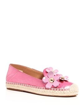Women's Leather Daisy Espadrille Flats by Marc Jacobs