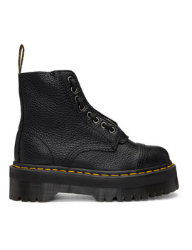 Black Sinclair  Boots by Dr. Martens