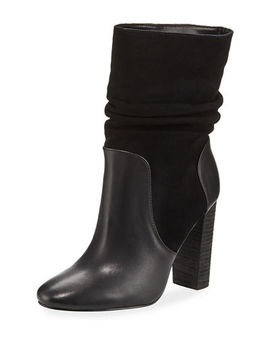 Indy High Heel Scrunch Booties by Charles David