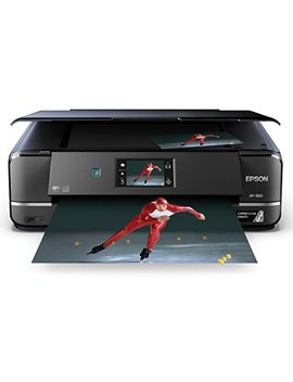 Epson Expression Photo Xp 960 Wireless Color Photo Printer With Scanner And Copier, Amazon Dash Replenishment Enabled by Epson