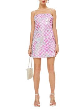 Sequin Mini Slipdress by Topshop