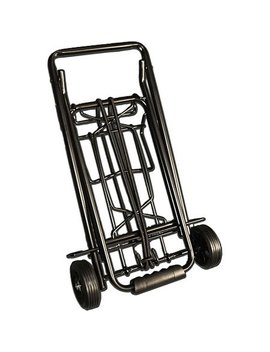 Travel Kart Black Metal Luggage Cart by Travel Kart