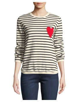 Breton Striped Cashmere Intarsia Sweater by Chinti And Parker