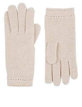 Woven Cashmere Gloves by Barneys New York