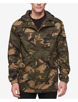 Men's Camo Print Hooded Parka by Levi's