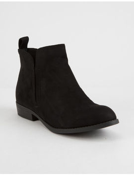 Soda Rudder Womens Booties by Soda