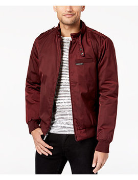 Members Only Men's Classic Zip Front Jacket by Member's Only
