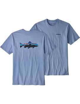 Patagonia Men's Fitz Roy Trout Responsibili Tee T Shirt by Patagonia