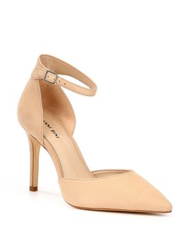 Bessah Two Piece Pointy Toe Pumps by Gianni Bini