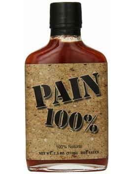Pain 100 Percents Hot Sauce, 7.5  Ounce by Pain 100%