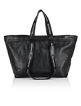 Carry Shopper S Leather Tote Bag by Balenciaga