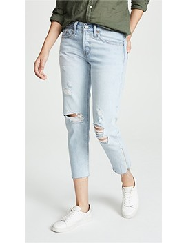 501 Diy Cropped Taper Jeans by Levi's
