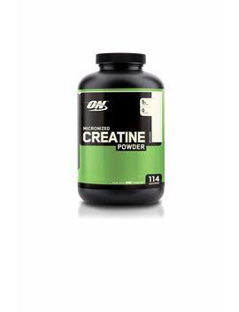Optimum Nutrition Micronized Creatine Monohydrate Powder, Unflavored, 600g by Optimum Nutrition