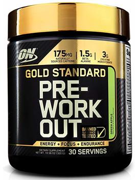 Optimum Nutrition Gold Standard Pre Workout With Creatine, Beta Alanine, And Caffeine For Energy, Flavor: Blueberry Lemonade, 30 Servings by Optimum Nutrition